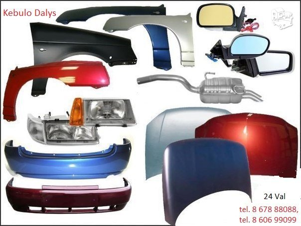 Kėbulo dalys Volkswagen Beetle žibintai