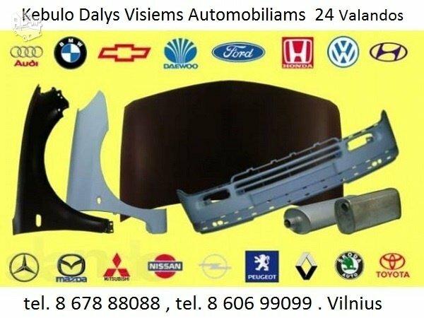 Kėbulo dalys Volkswagen Fox žibintai