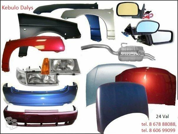 Kėbulo dalys Volkswagen Golf 3/4/5/6 žibintai
