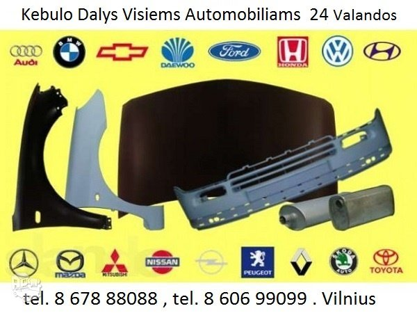 Kėbulo dalys Volkswagen Passat žibintai