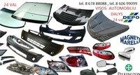 Toyota Hilux žibintai / kėbulo dalys