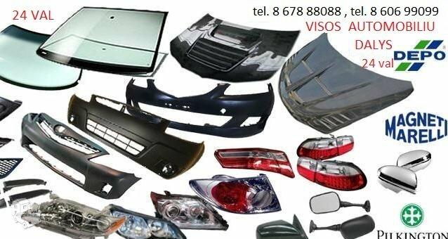 Fiat 500 žibintai / kėbulo dalys