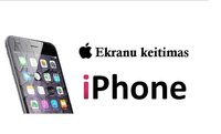 Profesionalus iPhone ekranų keitimas Klaipėdoje