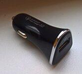 Auto 12 - 24 V Greito krovimo USB pakrovejas