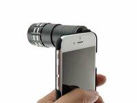 Zoom lens paversk iPhone ziuronais