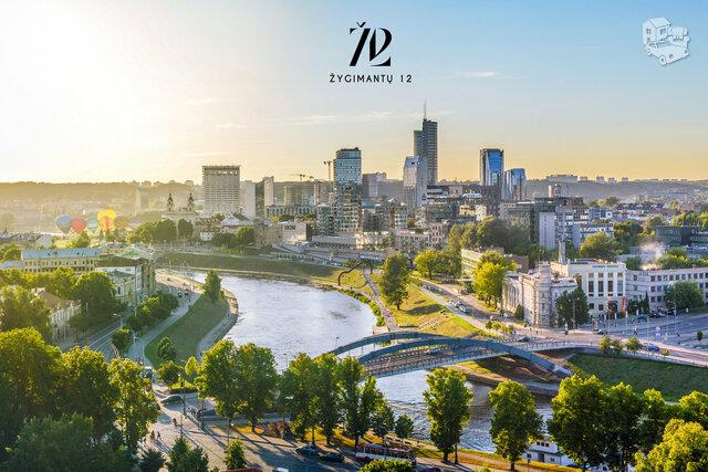 2 kambarių butas Vilniuje, Senamiestyje, Žygimantų g.