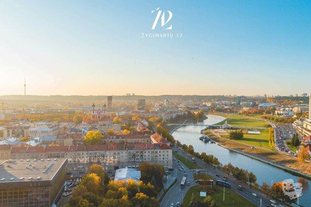 4 kambarių butas Vilniuje, Senamiestyje, Žygimantų g.