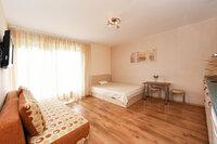Šviesus ir jaukus vieno kambario butas su balkonu Palangoje