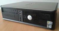 Dell optiplex 740 kompiuteris. SMS nebendrauju.