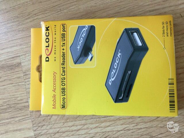 Micro usb card redader