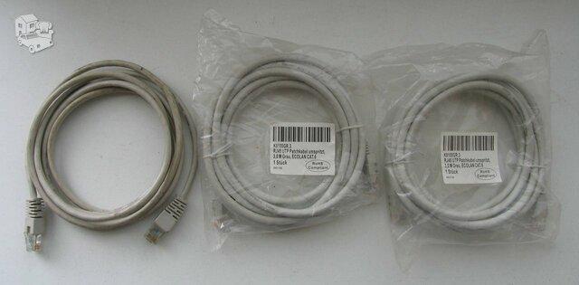 Nauji ir naudoti interneto kabeliai