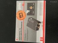 Audio adapteris is skaitmenos konvertuoja i analoga input coxial
