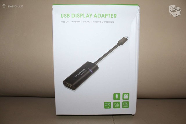 Naujas usb to hdmi adapteris