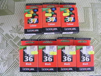 LEXMARK rasalo kasetes