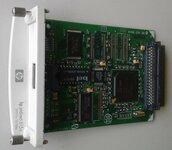 HP spausdintuvo LAN tinklo plokste