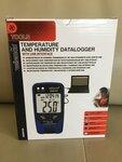 Termometras dregmes matuoklis