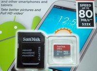 Nauja atminties kortelė SD MICRO 32GB 16GB