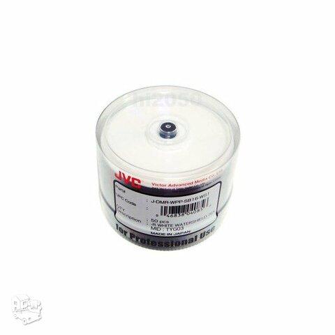 Taiyo Yuden (JVC) DVD-R 16x blizgus baltas diskas