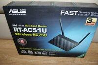 Naujas wifi routeris Asus AC 750