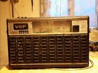 """Senovinė radija """"Vef"""""""