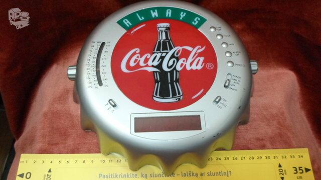 Cocacola radija,laikrodis