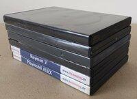 DVD, CD dėžutės, 2 Eur už visas kas yra foto. SMS nebendrauju.