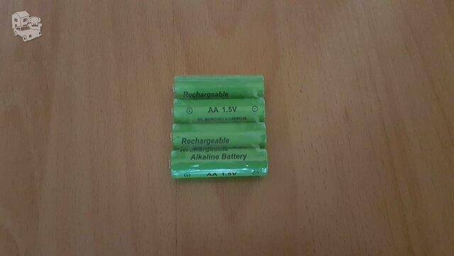 Naujas akumuliatorius baterija Aa alkaline 1.5v