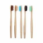 Bambukinis dantų šepetėlis suaugusiems